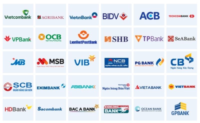BIDV có thể chuyển khoản được 34 ngân hàng khác nhau