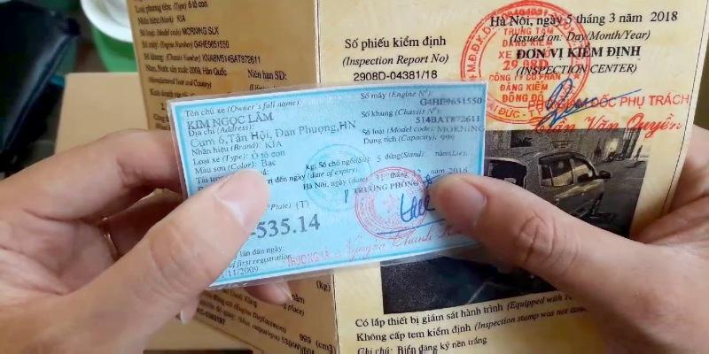 Cavet xe là giấy tờ để chứng minh chủ sở hữu chính chủ của chiếc xe đó