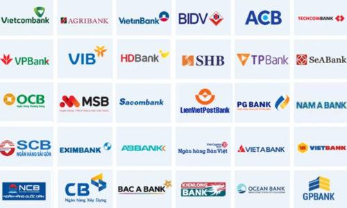 Các đầu số tài khoản của ngân hàng Vietcombank, Agribank, BIDV... 2021