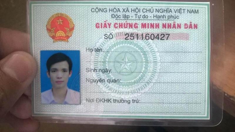 Chứng minh nhân dân (CMND) là một trong những loại giấy tờ tùy thân của công dân Việt Nam được cấp từ Công An có thẩm quyền