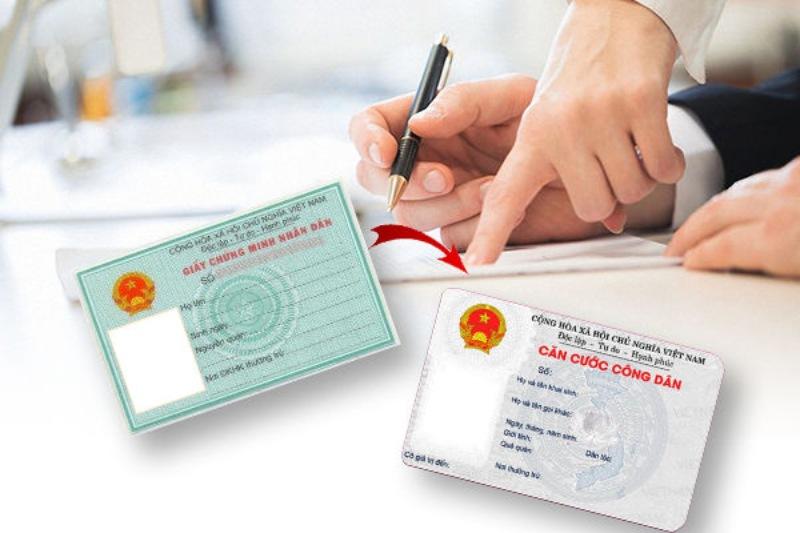 Lịch làm chứng minh nhân dân/thẻ căn cước công dân từ thứ 2 đến thứ 6