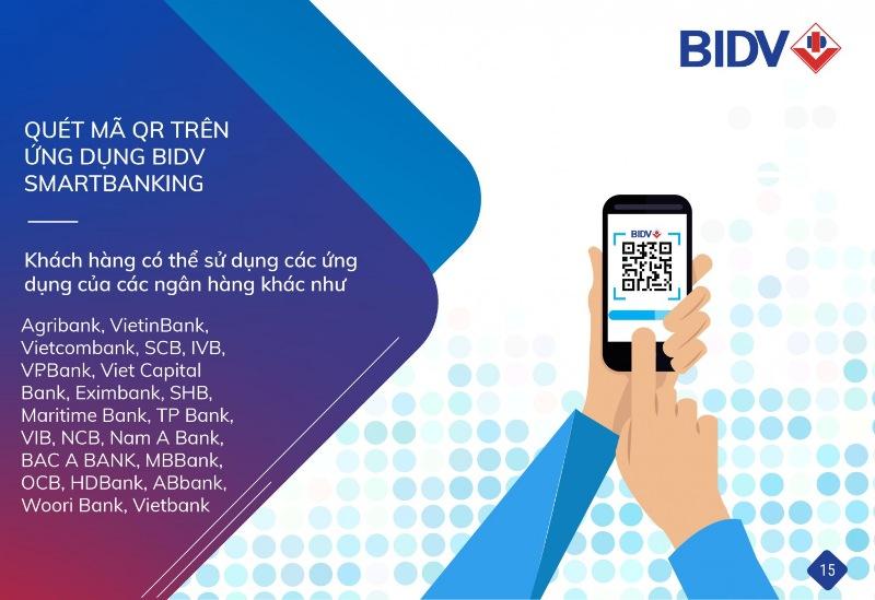 Phí các dịch vụ của BIDV Smart Banking chỉ áp dụng trong từng thời kỳ nhất định
