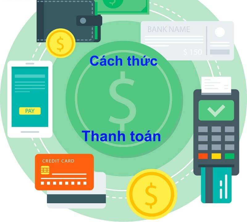 Quy trình thanh toán T/T đơn giản, nhanh chóng