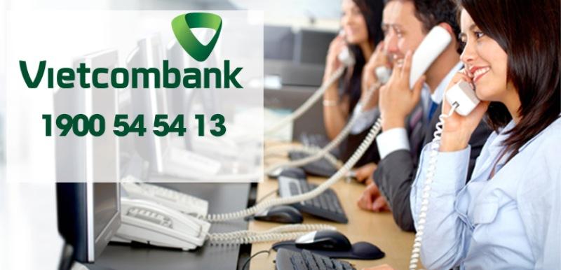 Tra cứu số tài khoản thông qua tổng đài/số hotline của Vietcombank