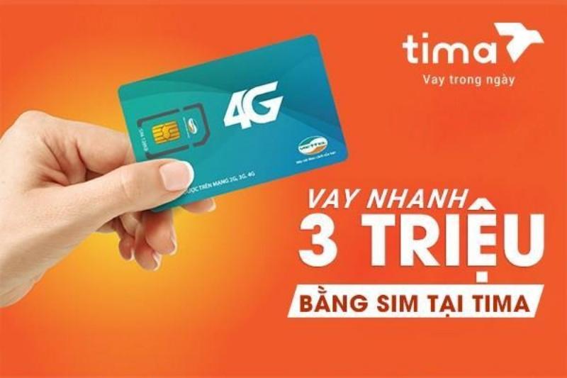 Tima - Vay tiền nhanh theo sim