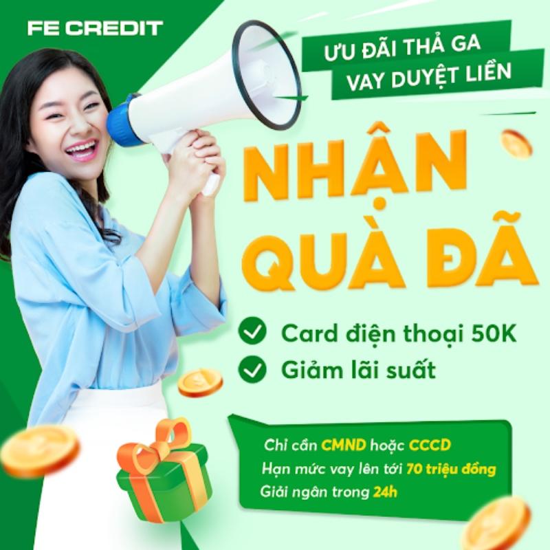 FE Credit hiện nay cũng hỗ trợ người vay có thể thanh toán dư nợ, trả góp