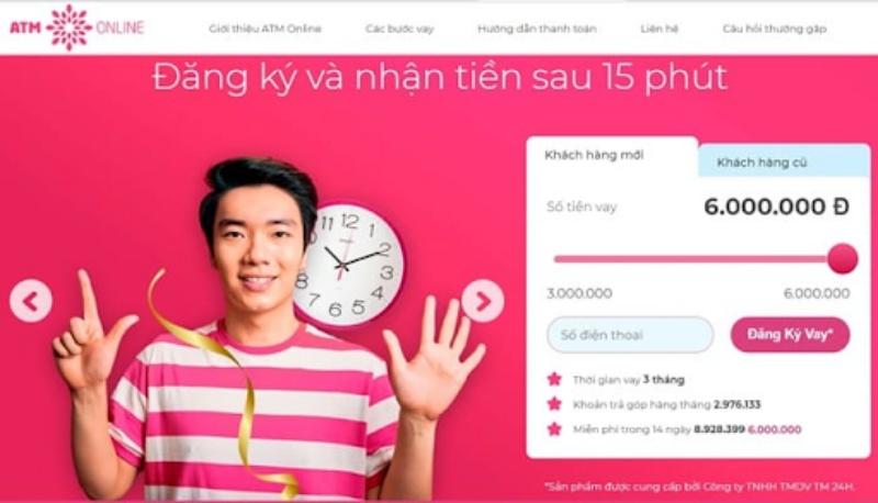 ATM online hỗ trợ vay cho khách hàng trên khắp cả nước