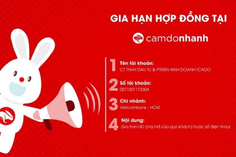 Truy cập trang website chính thống của Camdonhanh