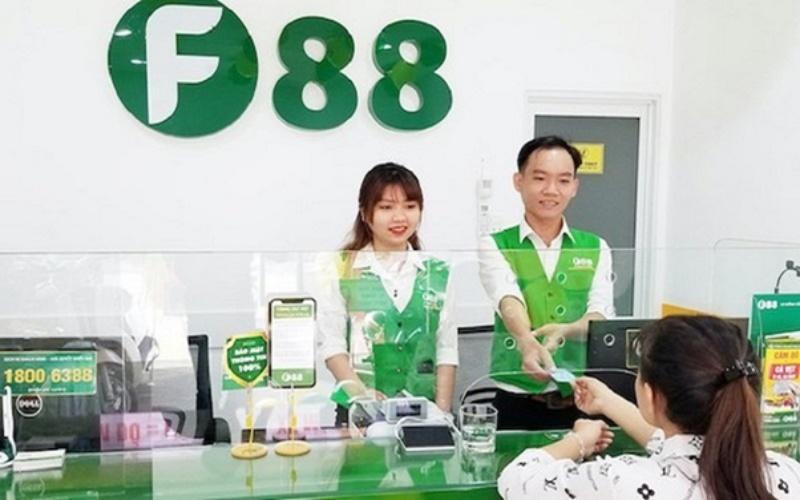 F88 - Dịch vụ cho vay cầm đồ của Công ty Cổ Phần Kinh Doanh F88