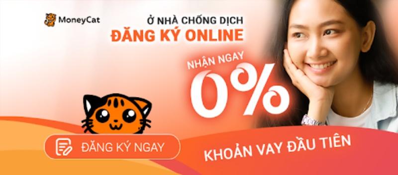 MoneyCat được biết là một ứng dụng vay tiền online