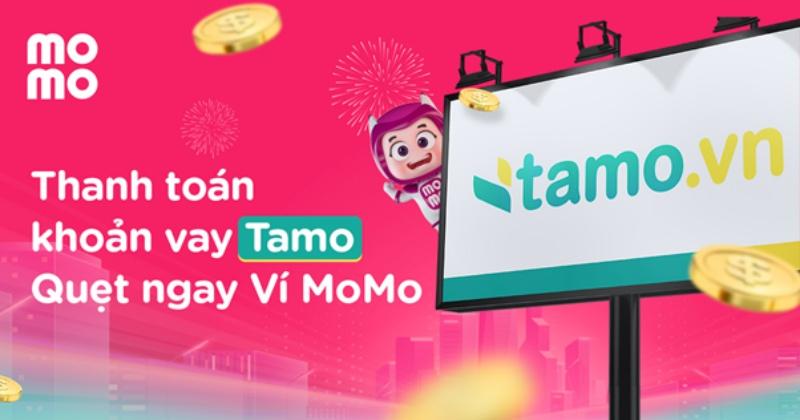 Thanh toán tiền vay qua ví điện tử Momo